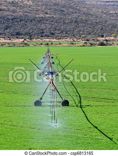 Agriculture water spray - csp6813165