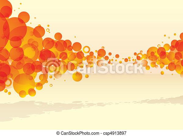agrume, esplodere, bolla, tastic - csp4913897
