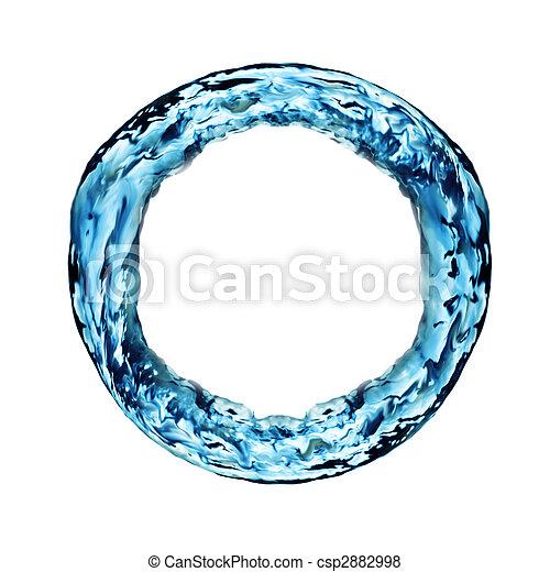 Anillo de agua - csp2882998