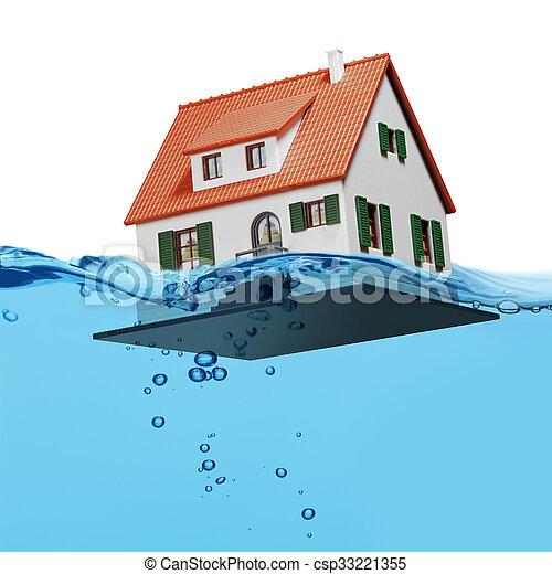 Agua azul salpicada aislada - csp33221355