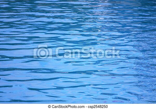 Textura de agua azul - csp2548250