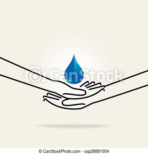 Guarda agua - csp28881054