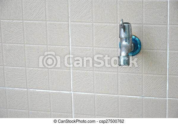 Tapas de agua - csp27500762