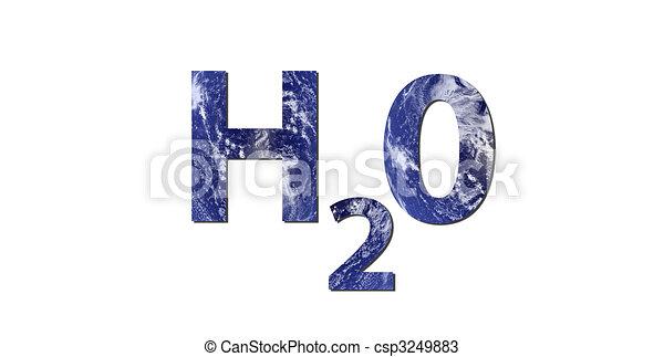 Agua H2O - csp3249883