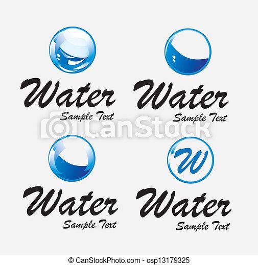 Agua - csp13179325