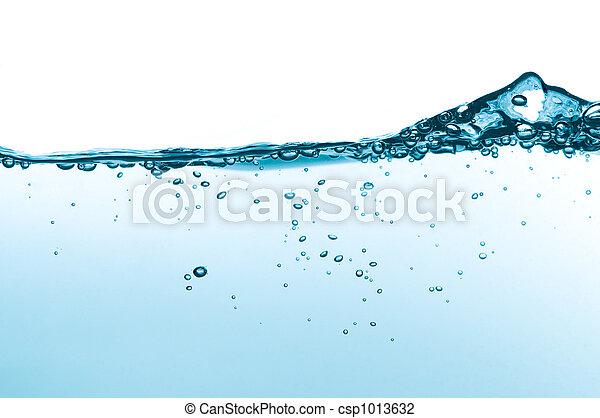 agua, onda - csp1013632