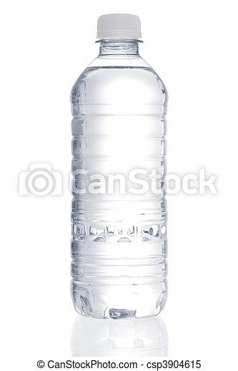 agua, purificado, botella - csp3904615