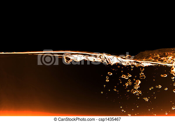 Agua abstracta - csp1435467