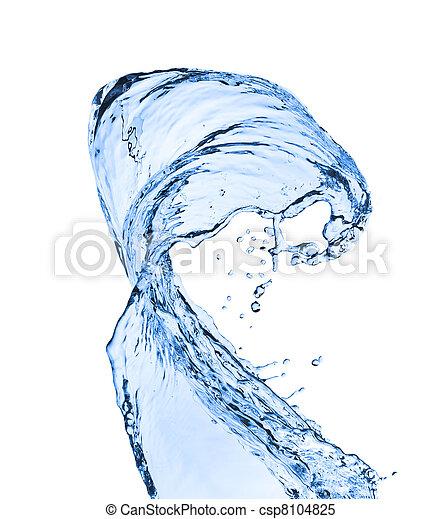 Salpicadura de agua - csp8104825