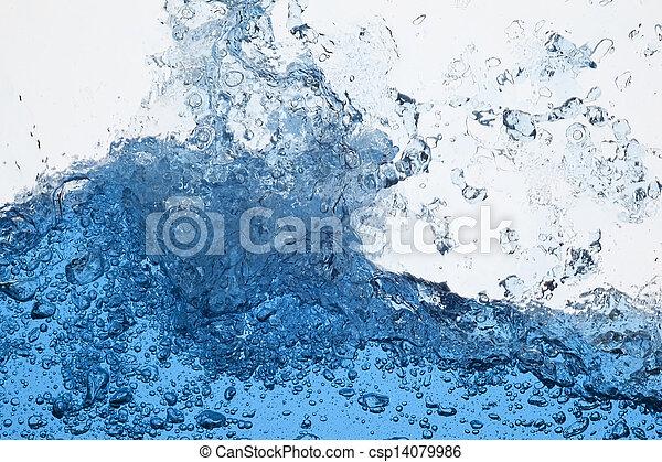 agua, salpicadura - csp14079986