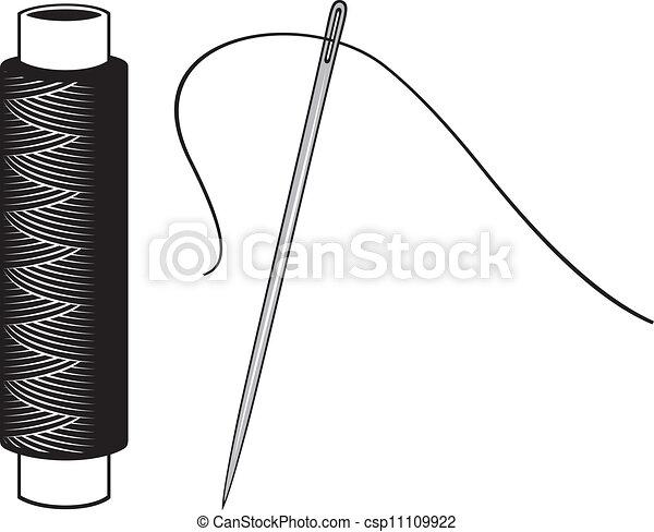 Pulso y aguja - csp11109922