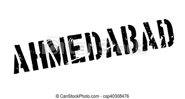 Ahmedabad rubber stamp - csp40308476