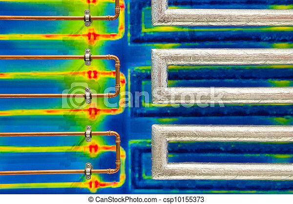 Ahorros de energía - csp10155373