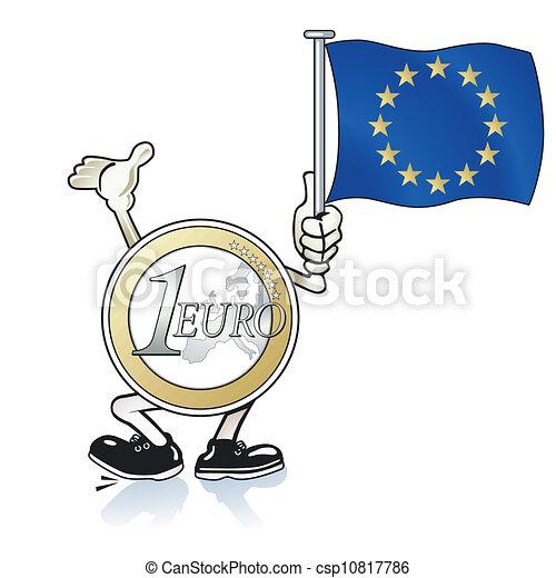 aide, euro - csp10817786