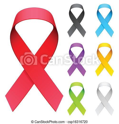 Aids ribbon. - csp16316720