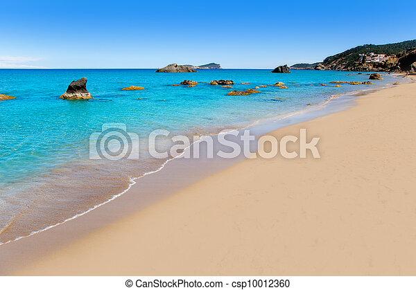 aiguas, blanca, agua, ibiza, strand, blanques - csp10012360