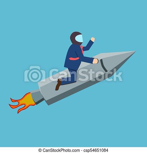 Aim high or success concept - csp54651084