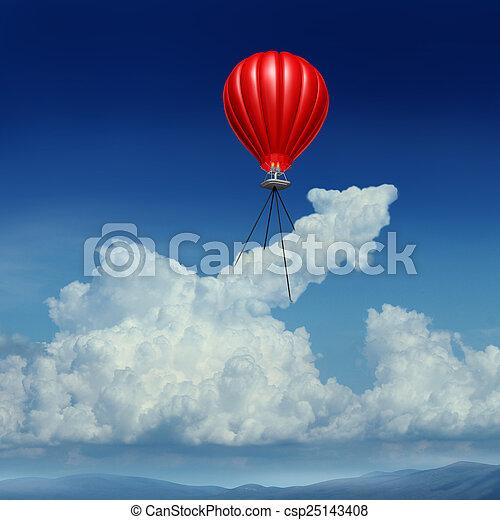 Aim High - csp25143408