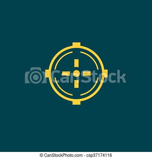 Aim icon - csp37174116
