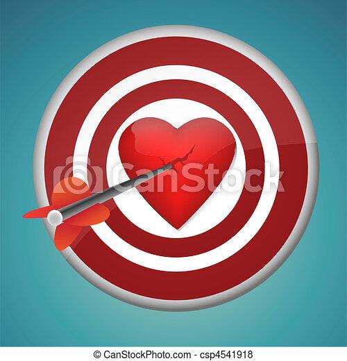 aiming at heart - csp4541918