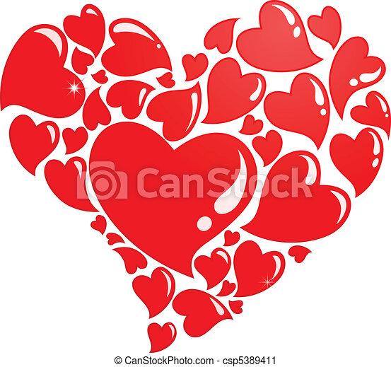 ainsi, beaucoup, amour - csp5389411
