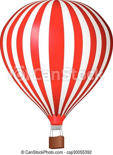 Air balloon - csp30055392
