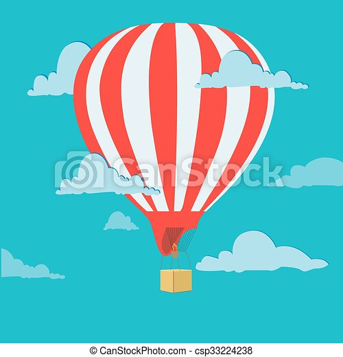 air balloon - csp33224238