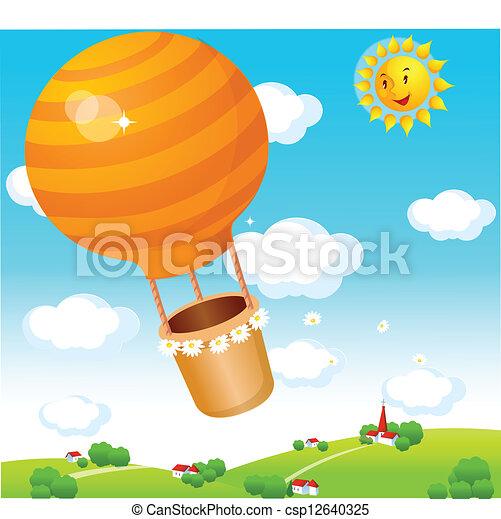 Air balloon  - csp12640325