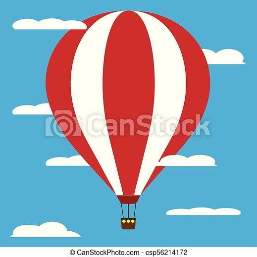 air balloon - csp56214172