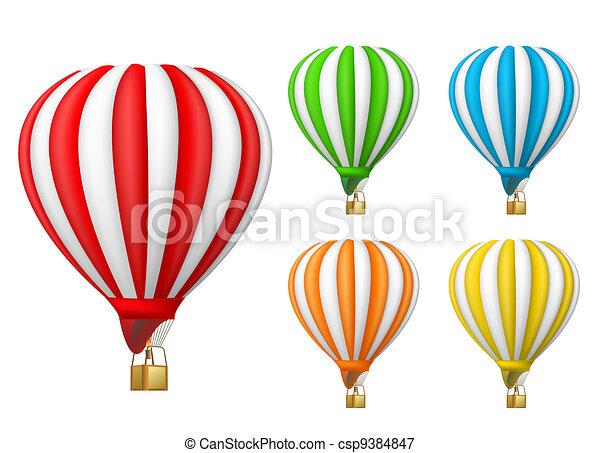 air balloon - csp9384847