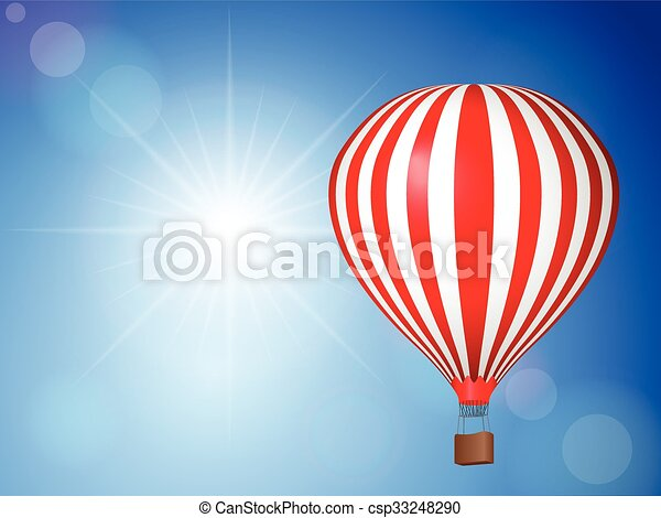 Air balloon sky - csp33248290
