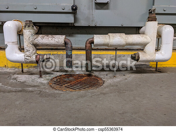 air, condensate, maniement, unité, vidange - csp55363974