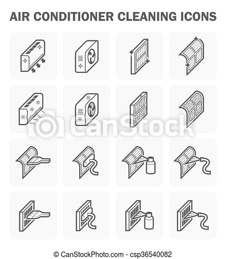 Air conditioner  and cleaning - csp36540082