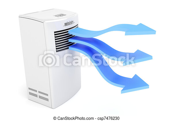 cold air conditioner clipart. air conditioner blowing cold - csp7476230 clipart a