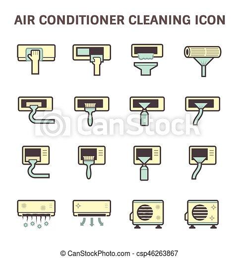 Air conditioner clean - csp46263867