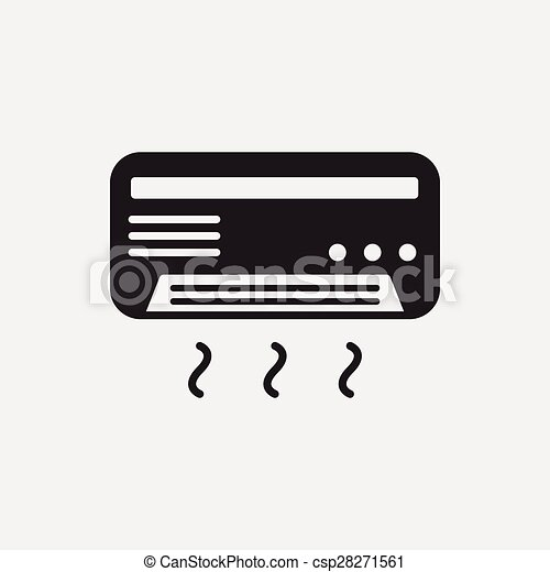 air conditioner icon - csp28271561