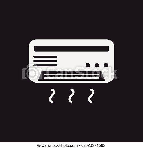 air conditioner icon - csp28271562