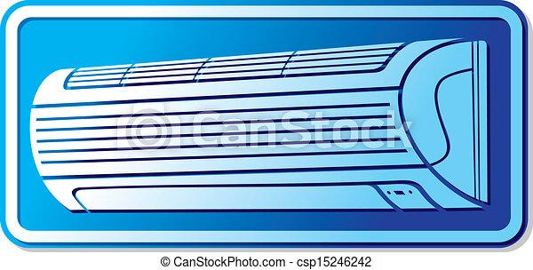 air conditioner icon - csp15246242