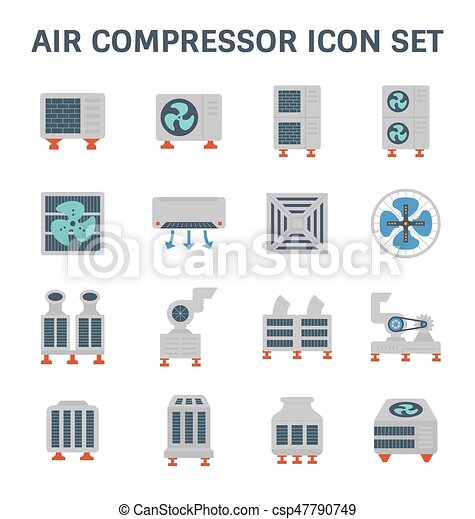 air conditioner icon - csp47790749