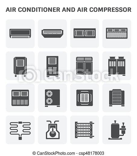 air conditioner icon - csp48178003