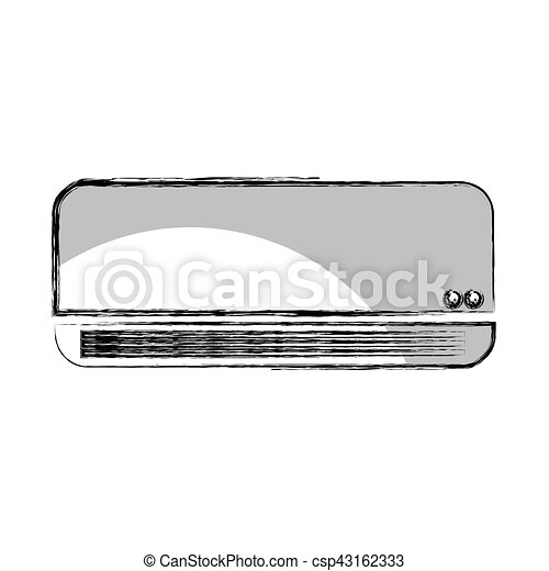 air conditioner isolated icon - csp43162333