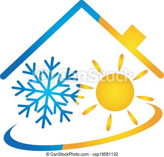 Air conditioner vector - csp19581132