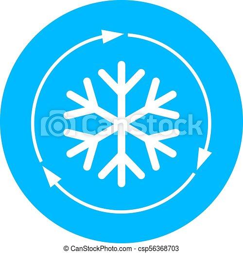 Air conditioner vector icon - csp56368703