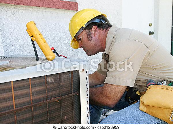 Air Conditioning Repairman 4 - csp0128959