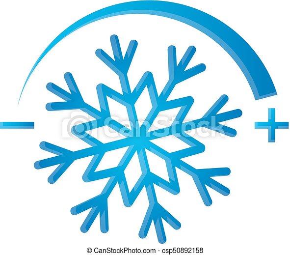 Air Conditioning Symbol Snowflake Air Conditioner Symbol Snowflake