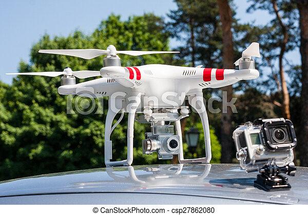 Air drone. - csp27862080