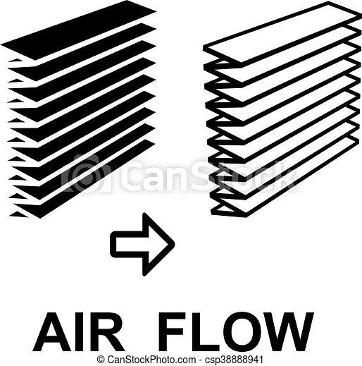 Air Filter Black Symbol Illustration For The Web