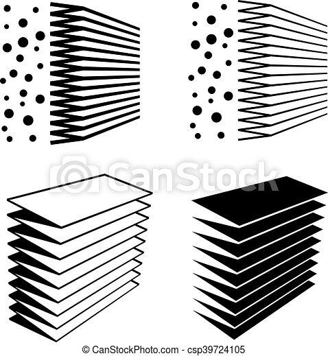 Air Filter Effect Black Symbol Illustration For The Web