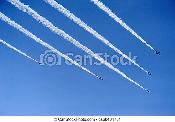 Air force aerobatic team - csp8404751