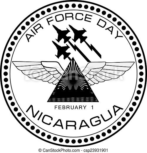 Air Force Day Nicaragua Air Force Symbol Of Nicaragua On February 1